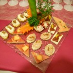 canapés Fins gourmets
