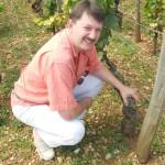 En Bourgogne, dans les vignes de grands Crus