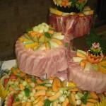 buffet jambon-melons